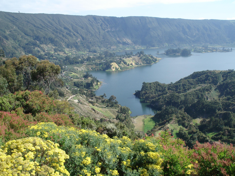 이디오피아 윈치 호수