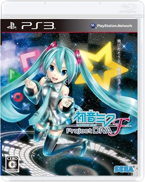PS3용 게임 '하츠네 미쿠 - 프로젝트 디바 - F' 재킷..