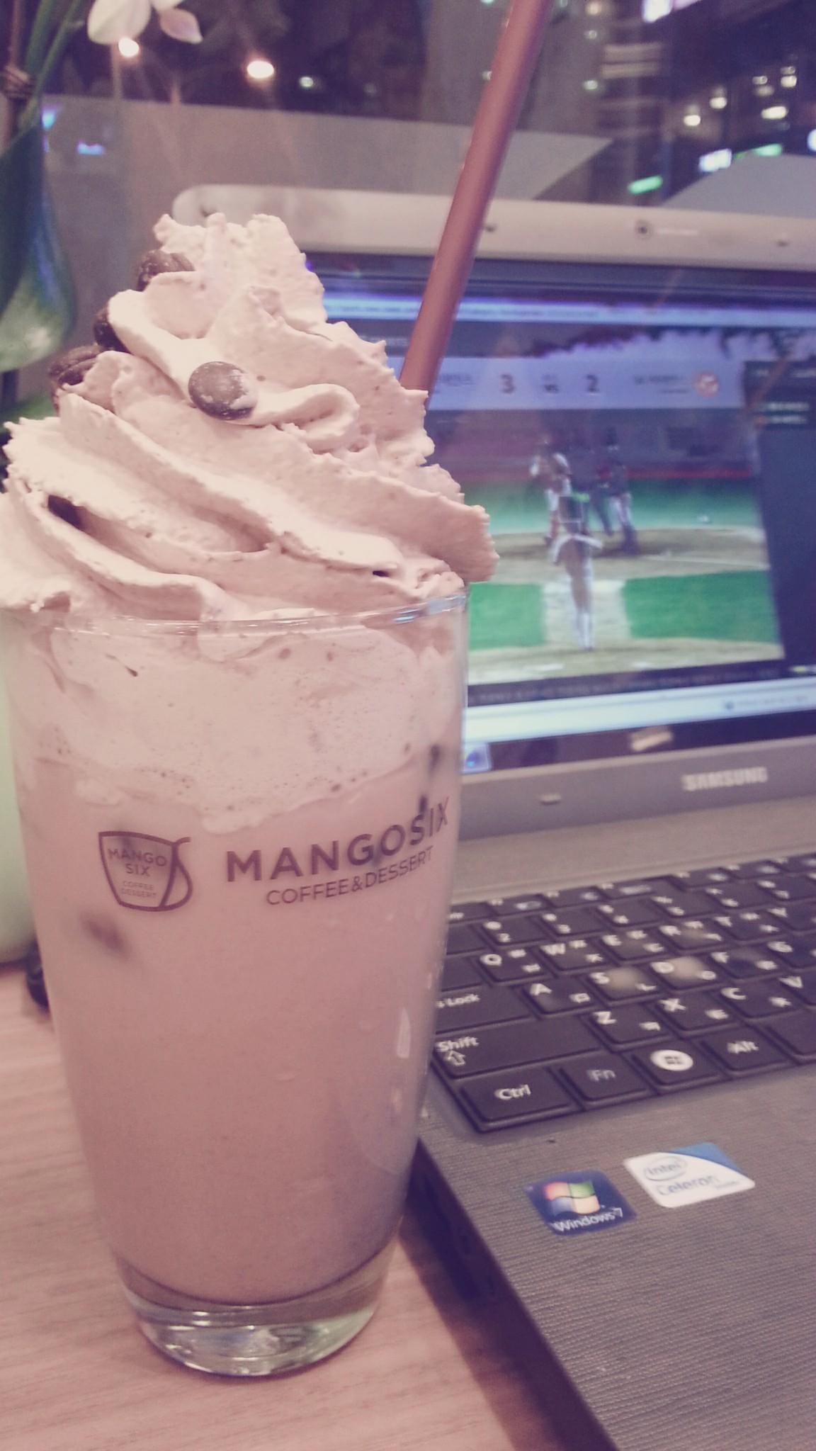 mangosix&coffee.송도점