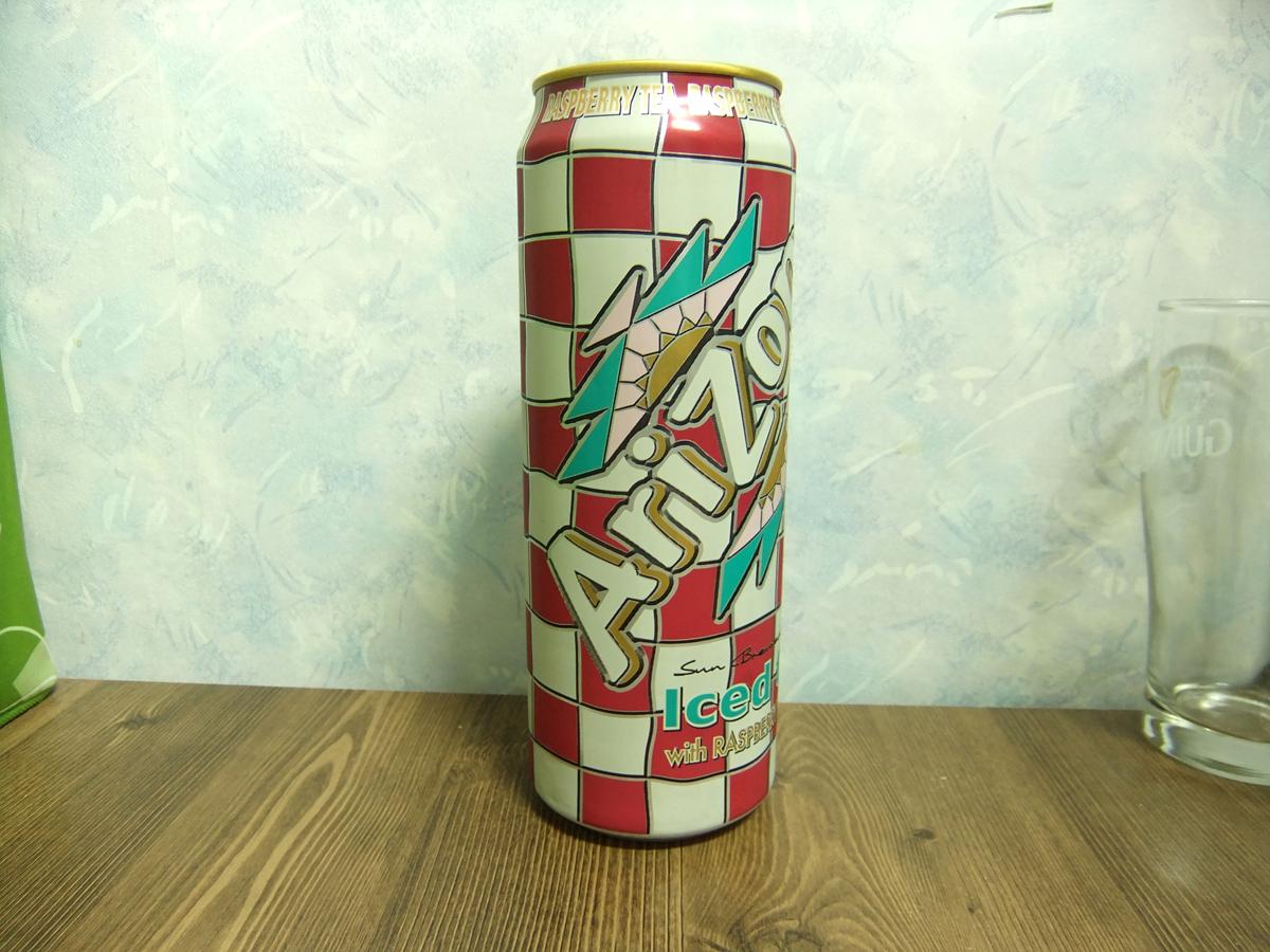 아리조나 아이스티 라즈베리맛 -초대용량 캔음료