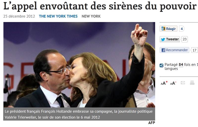 """""""프랑스, 권언유착의 나라?"""""""