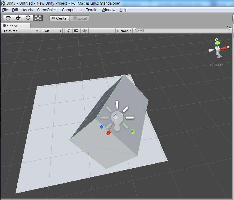 Unity3D를 시작해보자.(3)