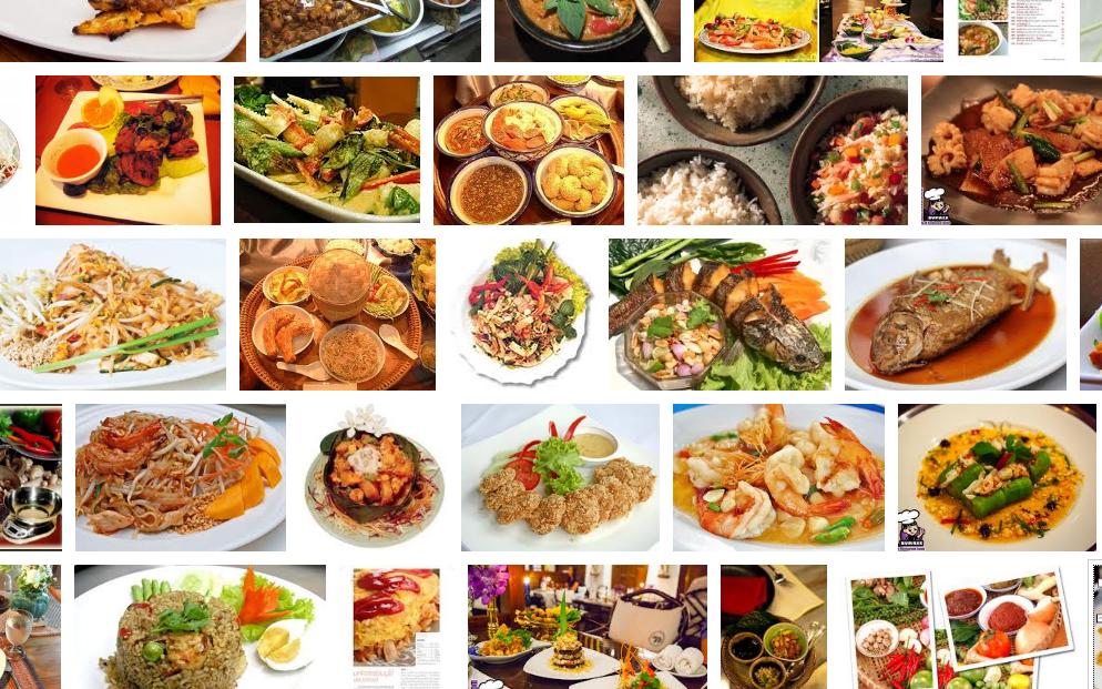 태국어 음식관련; 요리อาหาร