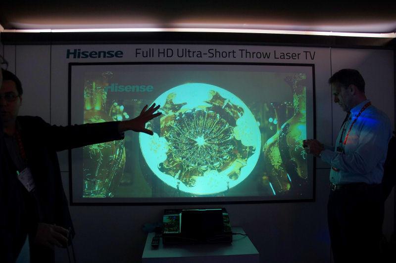 하이센스의 레이져 TV