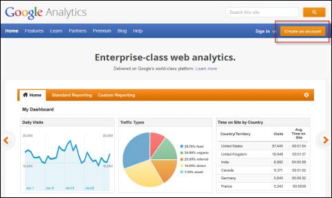 '웹사이트 분석의 시작' 구글 애널리틱스 따라잡기