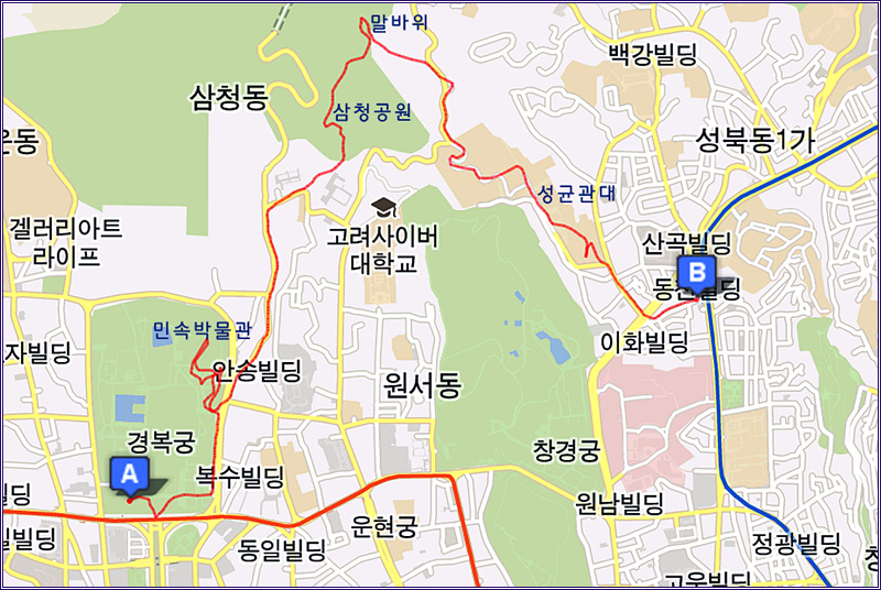 13_0118 국립 민속 박물관 돌아보고 백악산 말바위 넘..