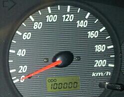 십만킬로미터 주행