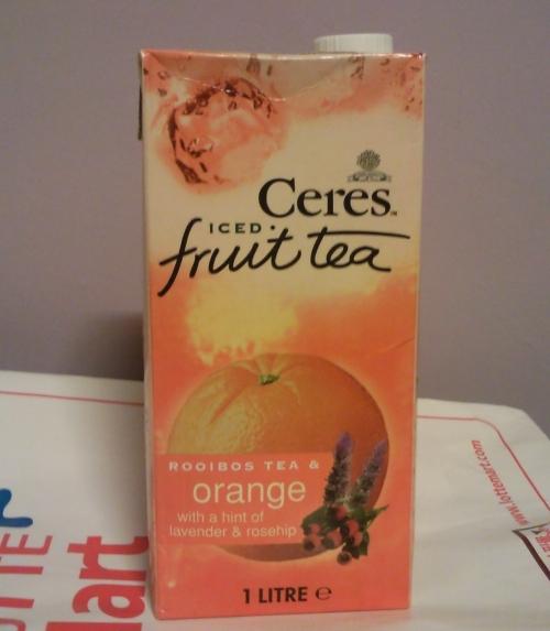 쎄레스  아이스드 과일차 오렌지