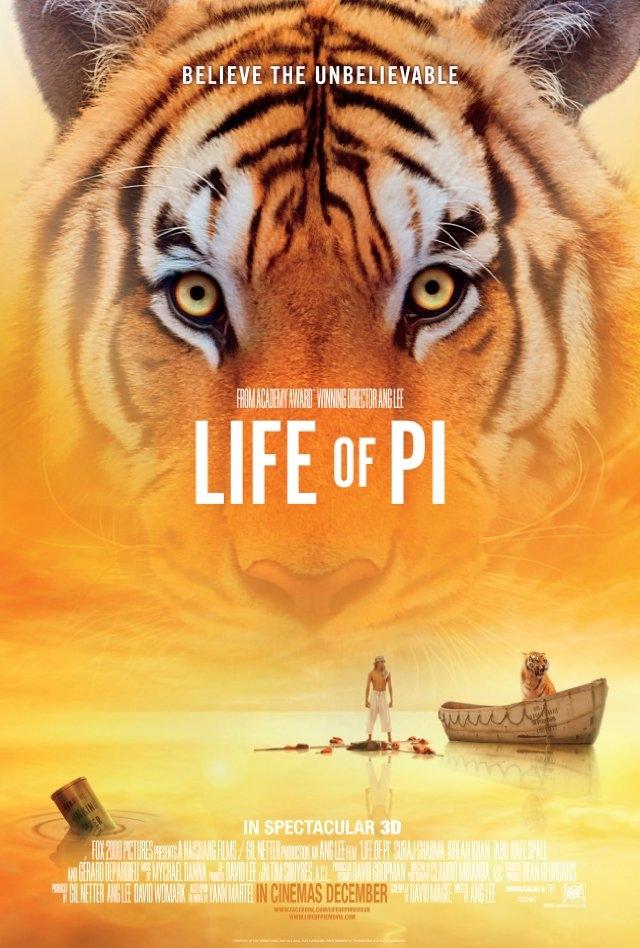 [영화] 라이프 오브 파이 (Life of Pi, 2012)