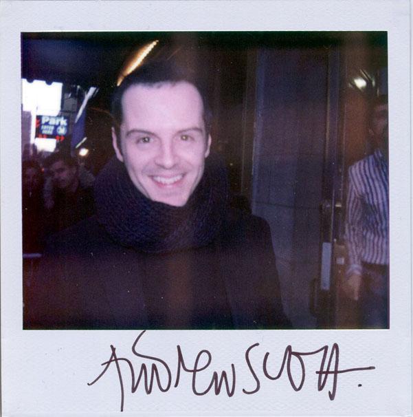 앤드류 스캇의 섹시한 글씨체. scott's handwriting