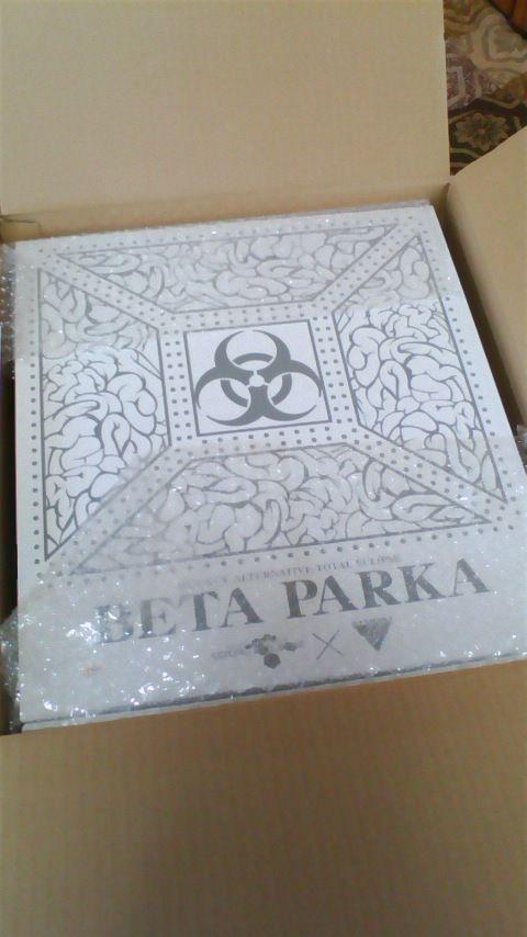 토탈 이클립스 'BETA 파카' 실제 구입 인증 사진