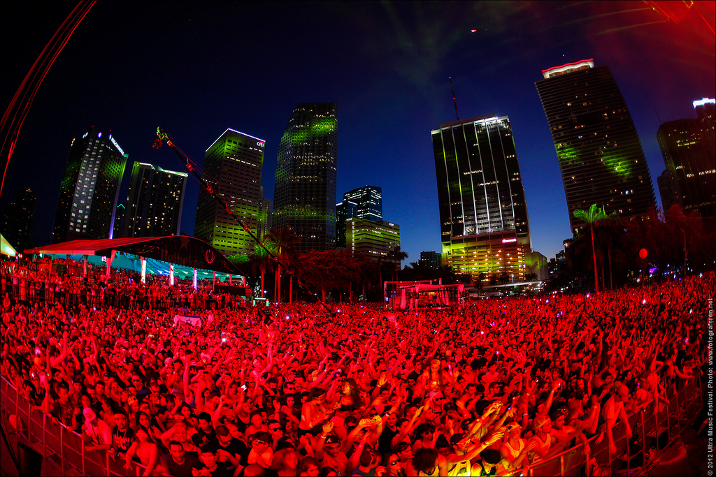 UMF in Miami (Ultra Music Festival)