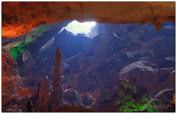 하롱베이 숭솟 동굴 Halong bay Sung Sot cave