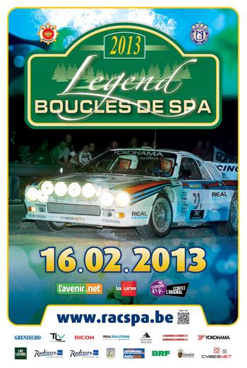 2013 Legend Boucles de Spa 랠리 사진