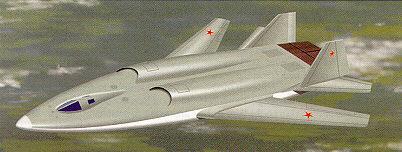 소련의 스텔스 초음속 폭격기 T-60