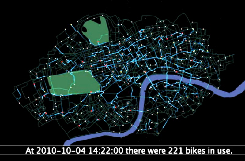 런던의 공공자전거 확장 정책 추진