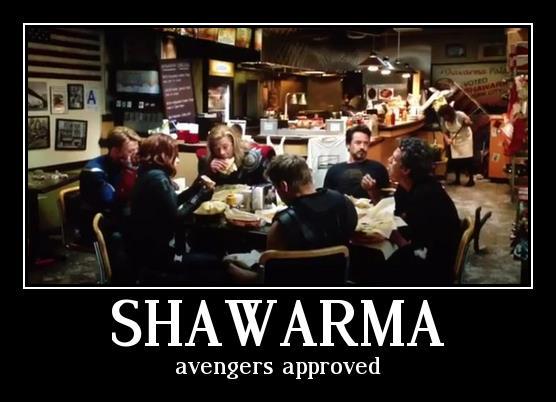 어벤져스도 좋아하는 슈와마