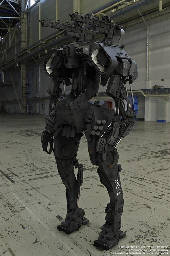 미육군이 개발한 로봇 병사ㅋㅋㅋㅋㅋ