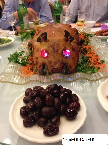 중국식 새끼돼지 바베큐