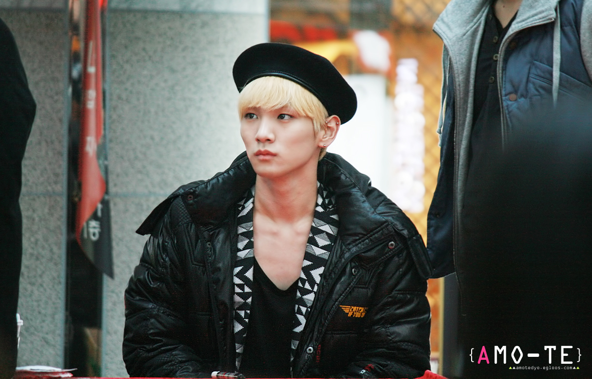 "130304 SHINee Busan fansign event ""key"""