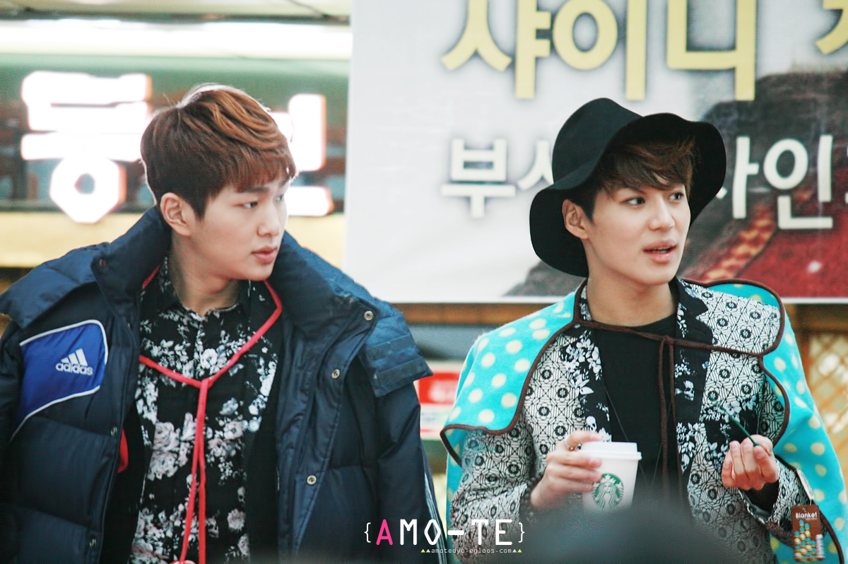 """130304 SHINee Busan fansign event """"onew & .."""