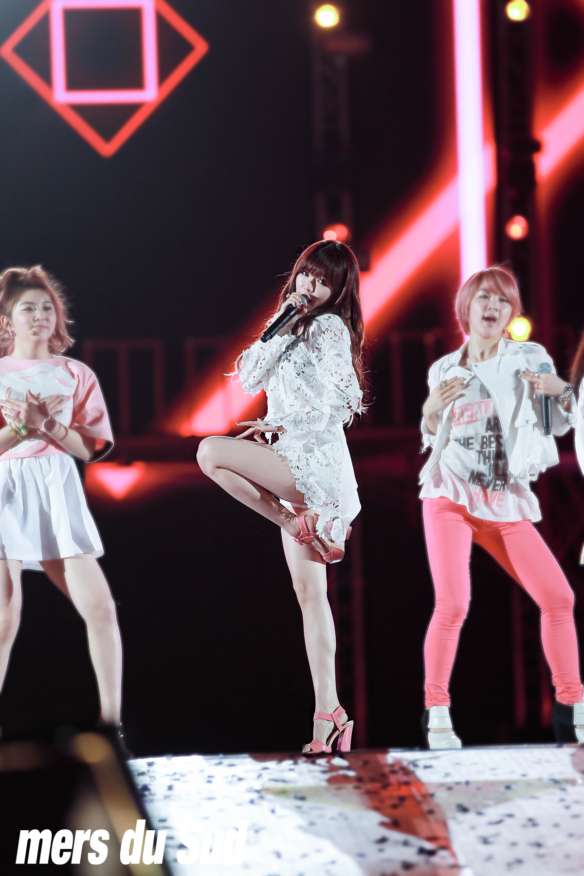20130316 MBC KOREAN MUSIC WAVE 포미닛(4minu..