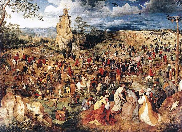 브뤼겔의 '십자가를 지고 가는 그리스도'