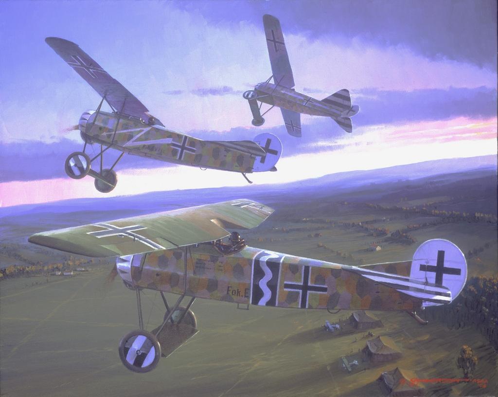 [고담의 1차대전 뱅기들] 포커 D.VIII (Fokker ..