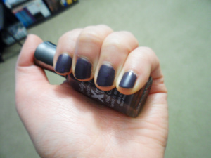NOTD: Sally Hansen Hard as Nails Xtreme W..
