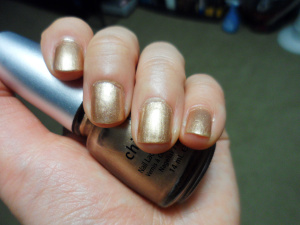 NOTD: China Glaze in Jingle Bells