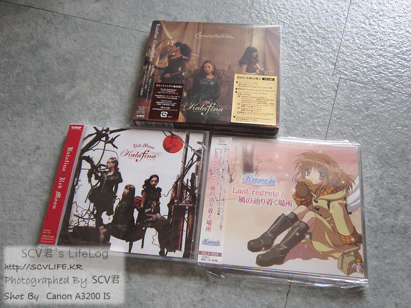 Kalafina 2, 4번째 앨범, 카논 주제가 싱글 구입 ..