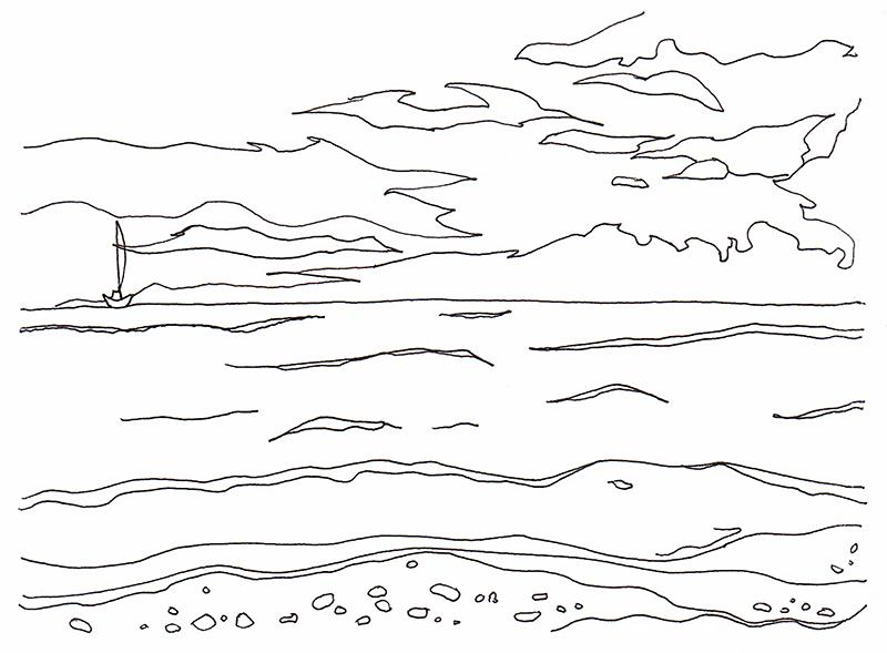 #1. 와이키키의 바다