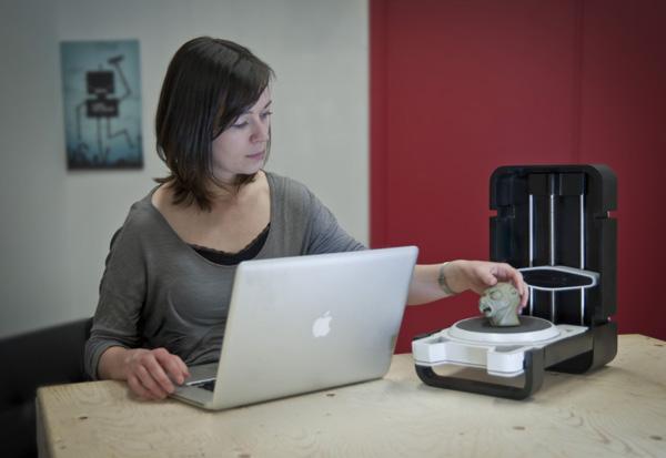 내가 만든 모형,조각,목업 모든걸 스캔한다 3D로 :..