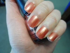 NOTD: China Glaze Nail Lacquer with Harde..