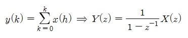 [Digital Control] 누적 정리(Sum Theorem)