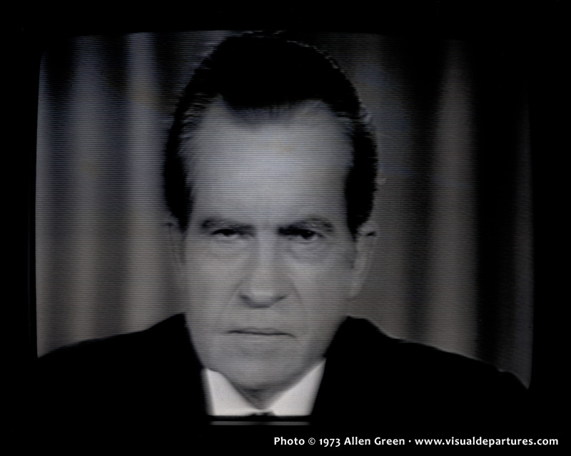 """""""닉슨과 텔레비전의 관계는?"""" ^^"""