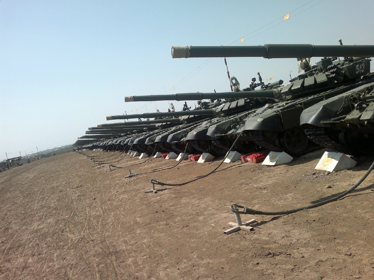 T-72BA - 전차 기동!