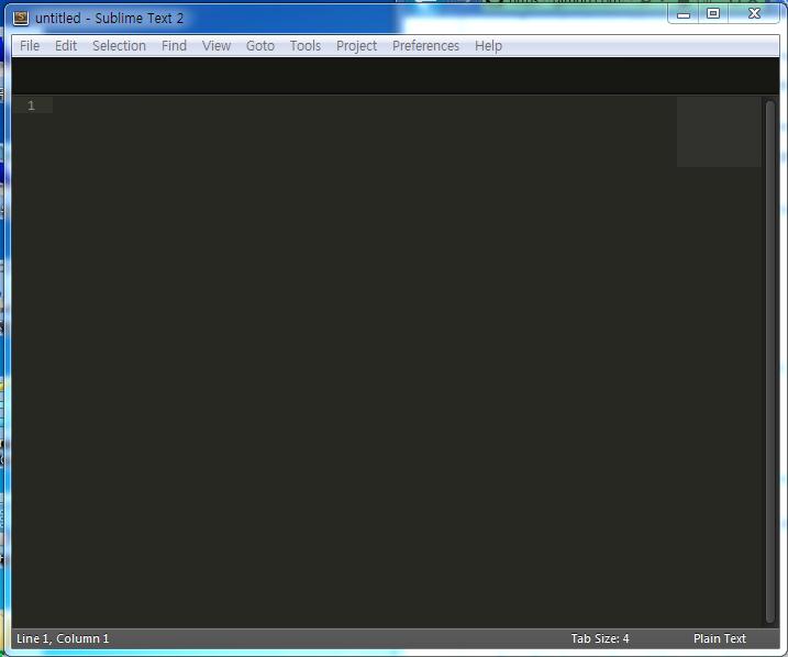 [에디터] SubLime Text 2 & ctags & python..
