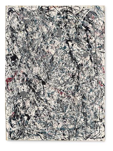 잭슨 폴록의 작품 '넘버19, 1948'이 경매에서 653억원에 낙찰