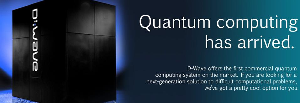 """나사/구글에서 D-Wave """"양자컴퓨터"""" 구매"""