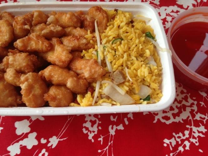주말의 배달 중국음식