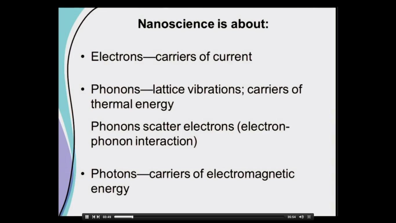 nanoscience's concept