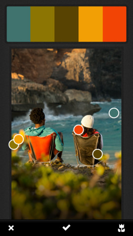 Adobe에서 색상 테마 만들기 앱을 내놨습니다.