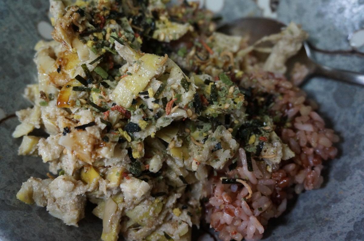 죽순 비빔밥