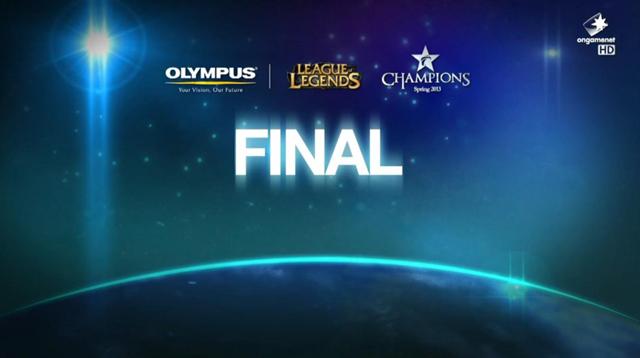OLYMPUS LOL Champions Spring 2013 결승전 &..