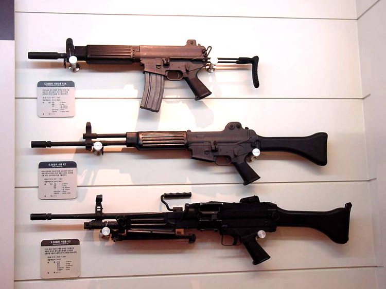 [밀리잡학] 한국형 총기 K 시리즈 초압축 가이드