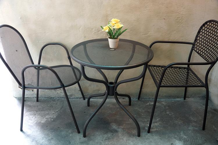 가구왕 야외 테라스용 철제 테이블