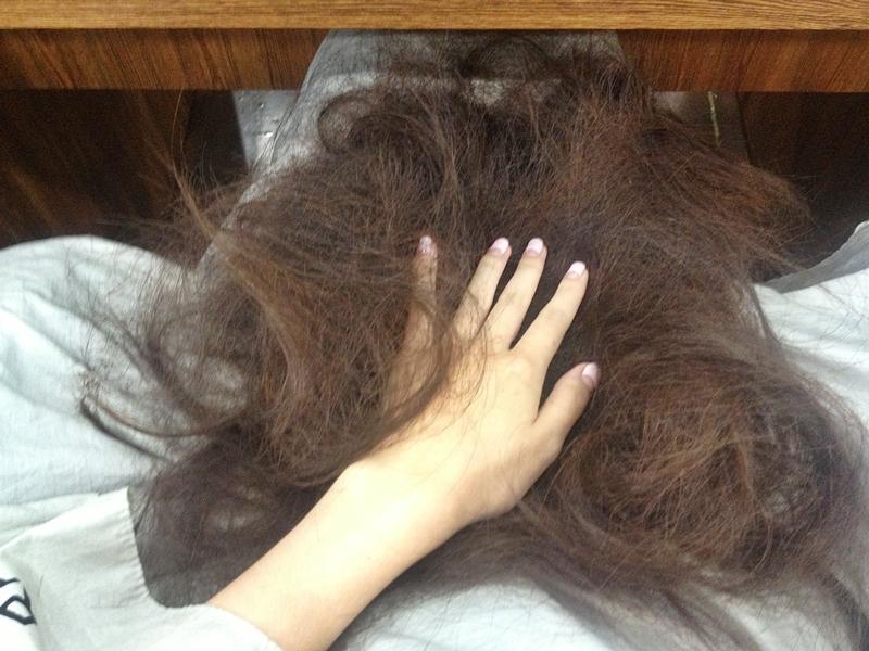 머리를 자르다 (이대 라푼젤)