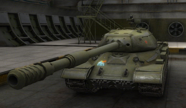 WoT. IS-4 롤아웃.