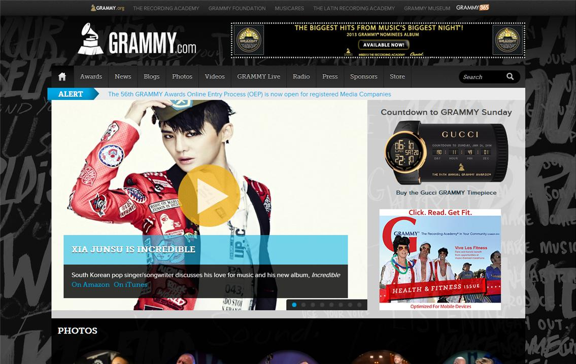 """XIA Junsu is Incredible"" on GRAMMY.com"